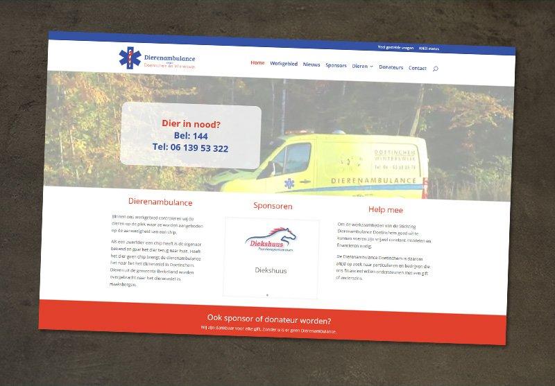 Website-Stichting-Dierenambulance